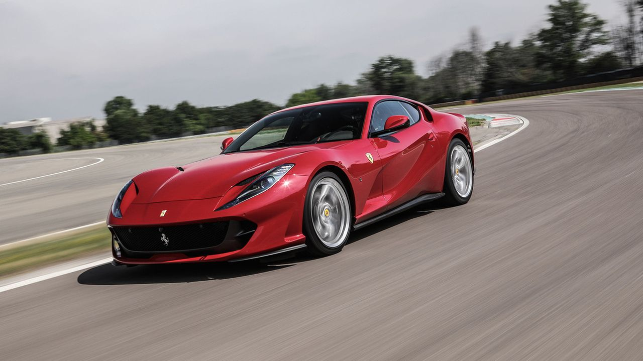 Ferrari 812 Superfast   340 km/h   Another Ferrari to make it to the list, the 812 Superfast comes in second sprinting from 0 to 100 km/h in 2.9 seconds. Pricing for the 812 starts at Rs 5.20 crore. (Image Source: Ferrari)