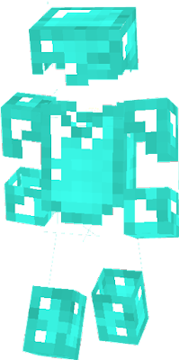 I never seen anyone do this so... i decided to add gloves to the diamond chest plate