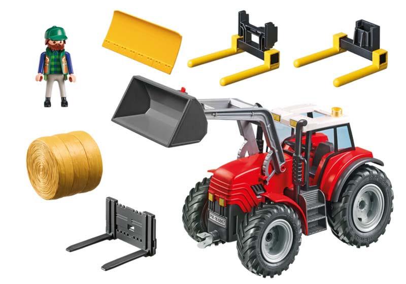 Contenido real de Playmobil® 6867 Tractor
