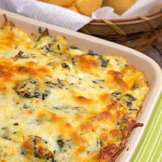 Hot Spinach Dip Chicken Casserole.