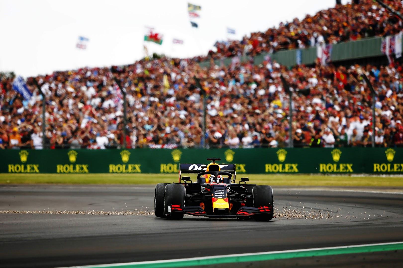 F1第10戦イギリスGPコース復帰したフェルスタッペン
