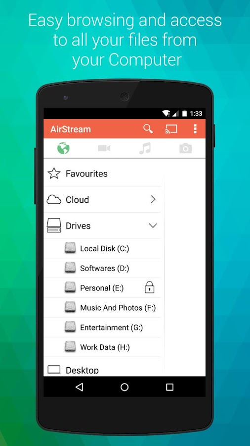 AirStream: Stream PC on mobile- screenshot