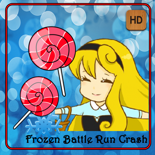 Frozen Battle Run Crash