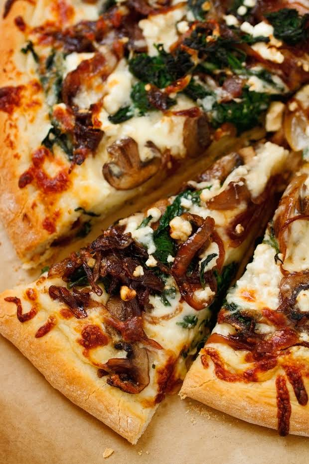 10 best spinach pizza with feta cheese recipes
