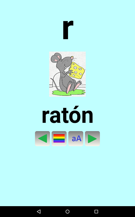 Abecedario para niños  Español - screenshot
