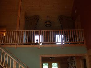 Photo: kids tv/gaming area in loft upstairs