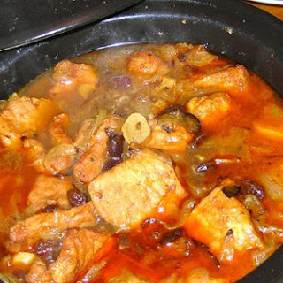 Moroccan Pork In A Tagine