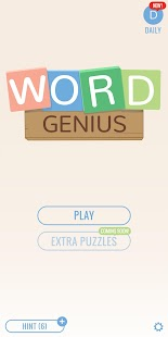 Word Genius: Train Your Brain- screenshot thumbnail