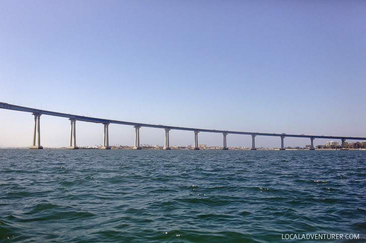 Coronado Bridge - Jet Skiing San Diego.
