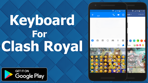 Keyboard For Clash Royale app (apk) free download for Android/PC/Windows screenshot