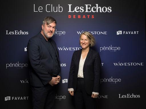 Club Les Echos Débats avec Anne Rigail - Favart