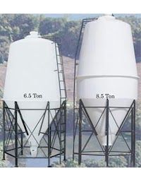 Poly Bulk Grain Bins