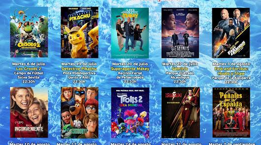 Berja propone diez proyecciones de películas para este verano