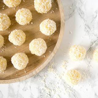 Easy Indian Pineapple Ladoo.