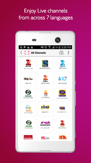 how to watch live tv on your android phone