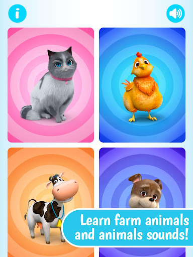 Farm Animals Puzzle by Dave and Ava - screenshot