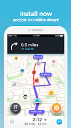 Waze - GPS, Maps, Traffic Alerts & Live Navigation APK screenshot thumbnail 5
