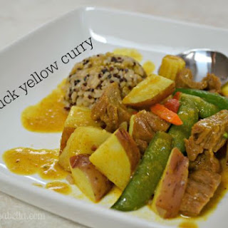 Mock Duck Yellow Curry.