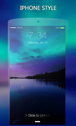 ロック スクリーン IPhone 7