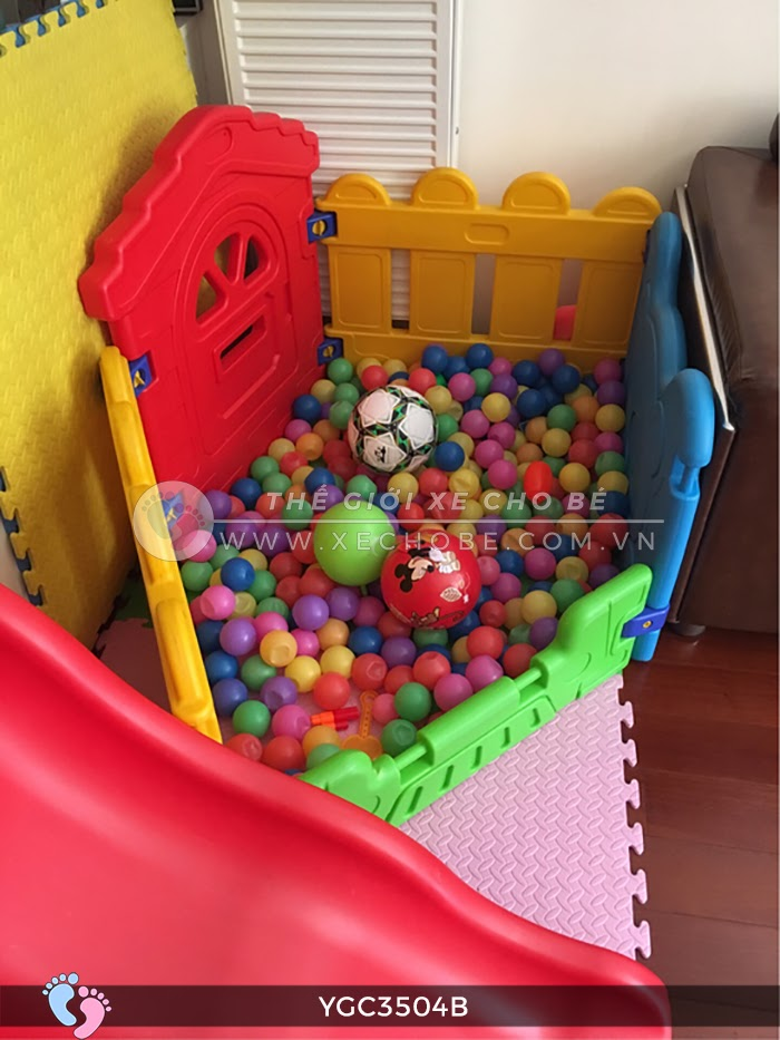 Nhà banh mini cho bé YGC-3504B 5