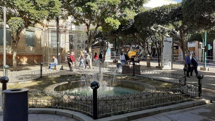 Imagen del centro de Almería.