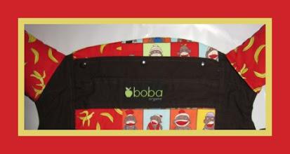 Photo: *Monkeying Around*  customized Boba Baby Carrier custom Strap Wraps