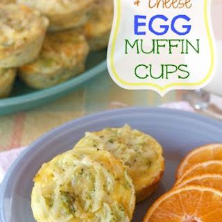 Broccoli, Potato & Cheese Egg Muffin Cups.