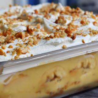 Peanut Butter Banana Pudding Recipes