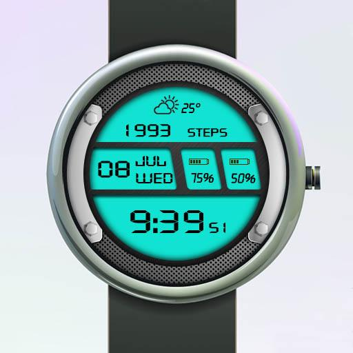 Electronic Charm 1 Watch Face