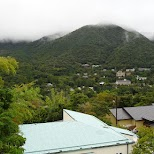 views from Gaku Guesthouse in Hakone, Kanagawa, Japan