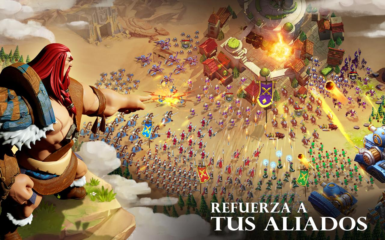 Art of Conquest (AoC): captura de pantalla