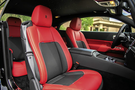 The interior has brighter colour options than your usual Rolls-Royce.  Picture: DARREN FRESCO