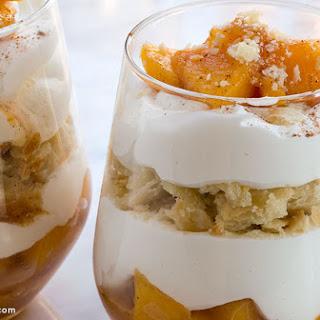 Caramelized Peach Pie Parfait