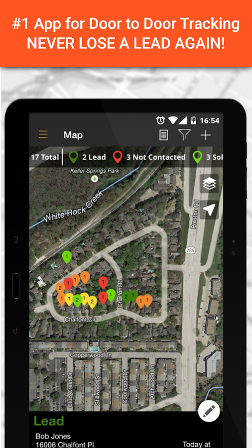 SPOTIO - Door to Door Tracking- screenshot