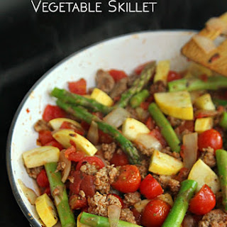 Ground Turkey and Vegetable One-Pot Skillet
