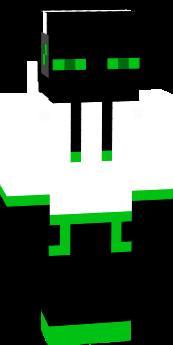 green enderman w/ hoodie