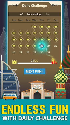 Solitaire Landmark: Brained Out Puzzle Card apkmind screenshots 6