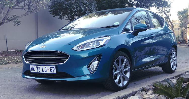 The design of the new Fiesta definitely gives it a more upmarket look. Picture: MARK SMYTH