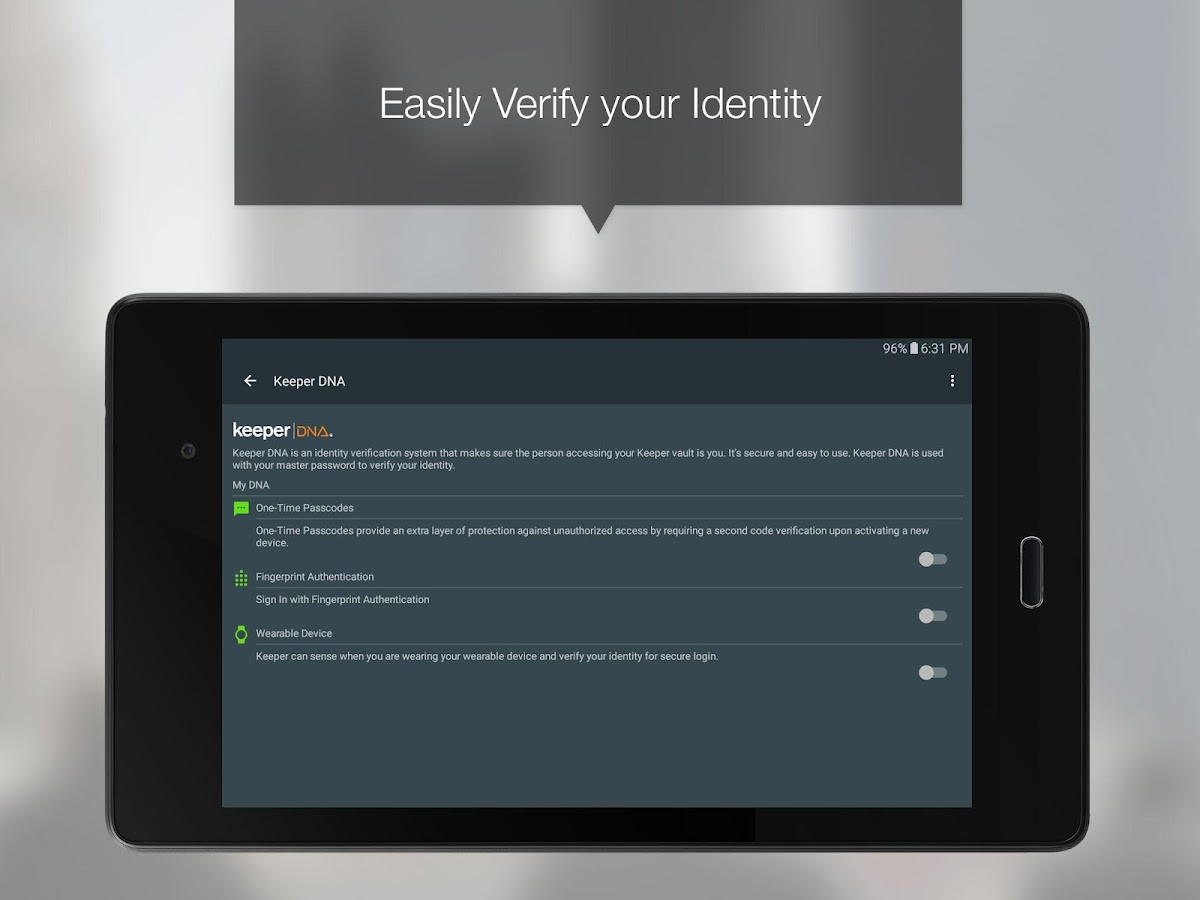 Keeper® Password Manager- screenshot
