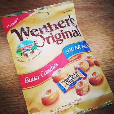 "Werther's butter candies from UK, it's  sugar free, who doesn't like ""sweet""...... 英國無糖奶油糖果, 邊個唔鍾意""甜""? Place your order now via 92761467 or inbox us!  #surprise #surprisesnackbox #snacks #gift #surprisegift #hk #hkig #picoftheday #party #wedding #souvenirs #uk #Korea #驚喜 #送禮 #零食 #neighborfarm #春茗 #開運 #糖果 #trysomethingnew #love  #werthers #iloveyou #candy #sugarfree #buttercandy"