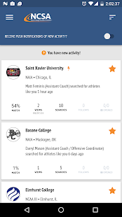 NCSA Athletic Recruiting- screenshot thumbnail