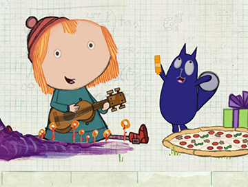 Peg plus Cat - poster