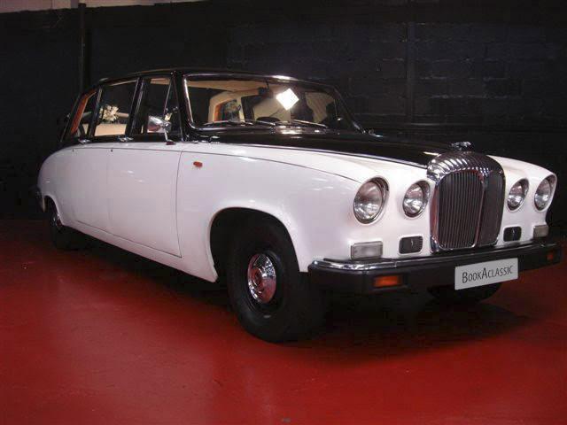 Daimler DS 420 Laundelette Hire Glasgow