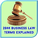 Business Law Terms Dictionary icon