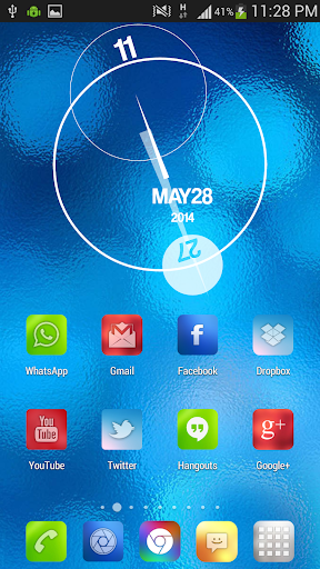 Blur Color Theme & Icon Pack 1.9 screenshots 5
