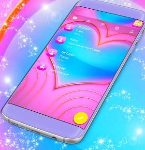Volný 2017 Pink SMS Téma - náhled