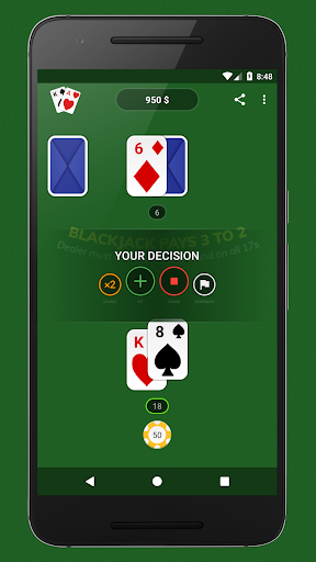 Blackjack - Free & Offline 1.4.0 Mod screenshots 1