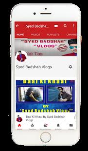 Syed Badshah Vlogs - náhled