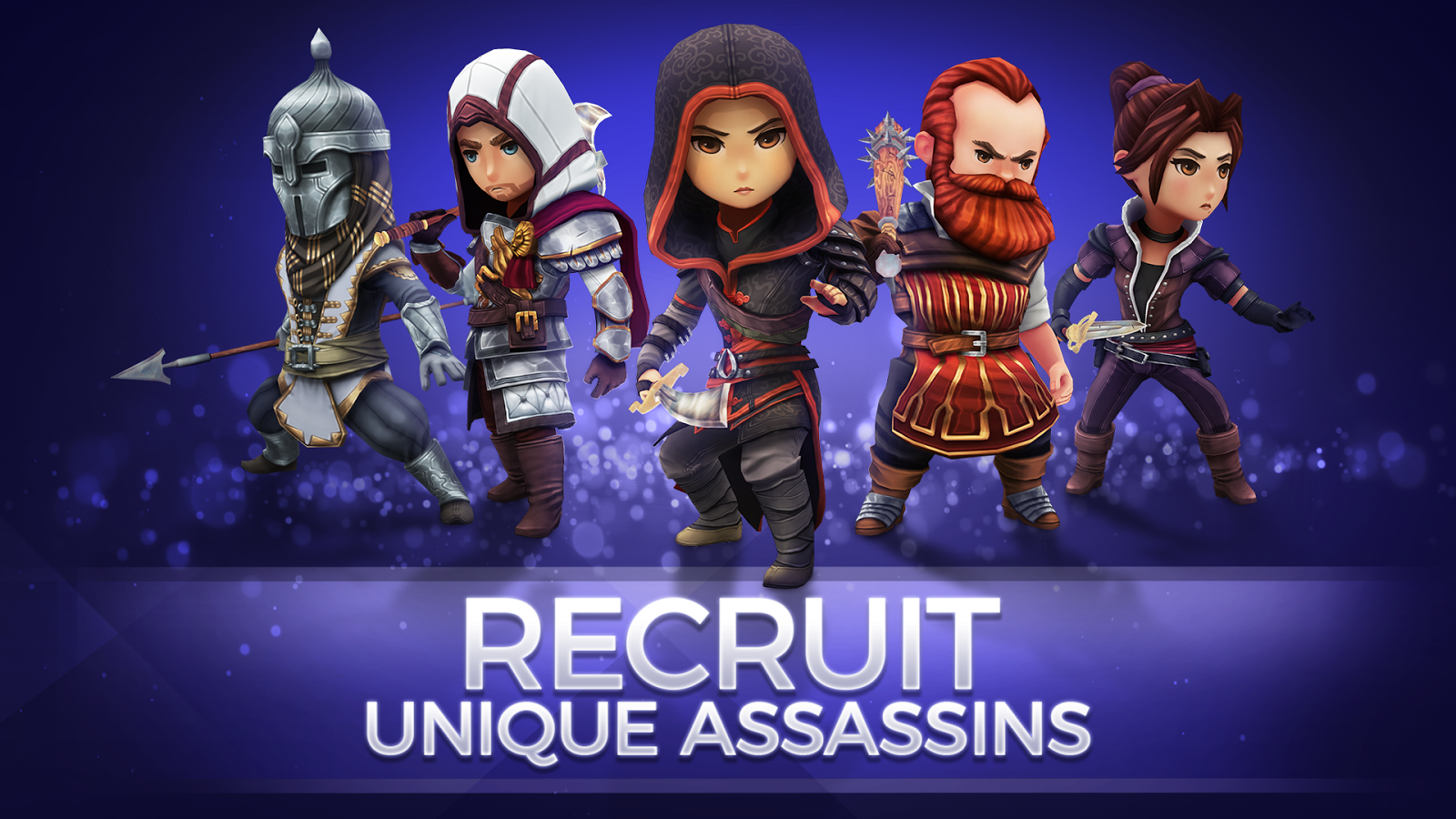 Assassin's Creed Rebellion (Unreleased)- หน้าจอ
