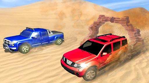 offroad Desert jeep rally 2019 1.1 APK MOD screenshots 1